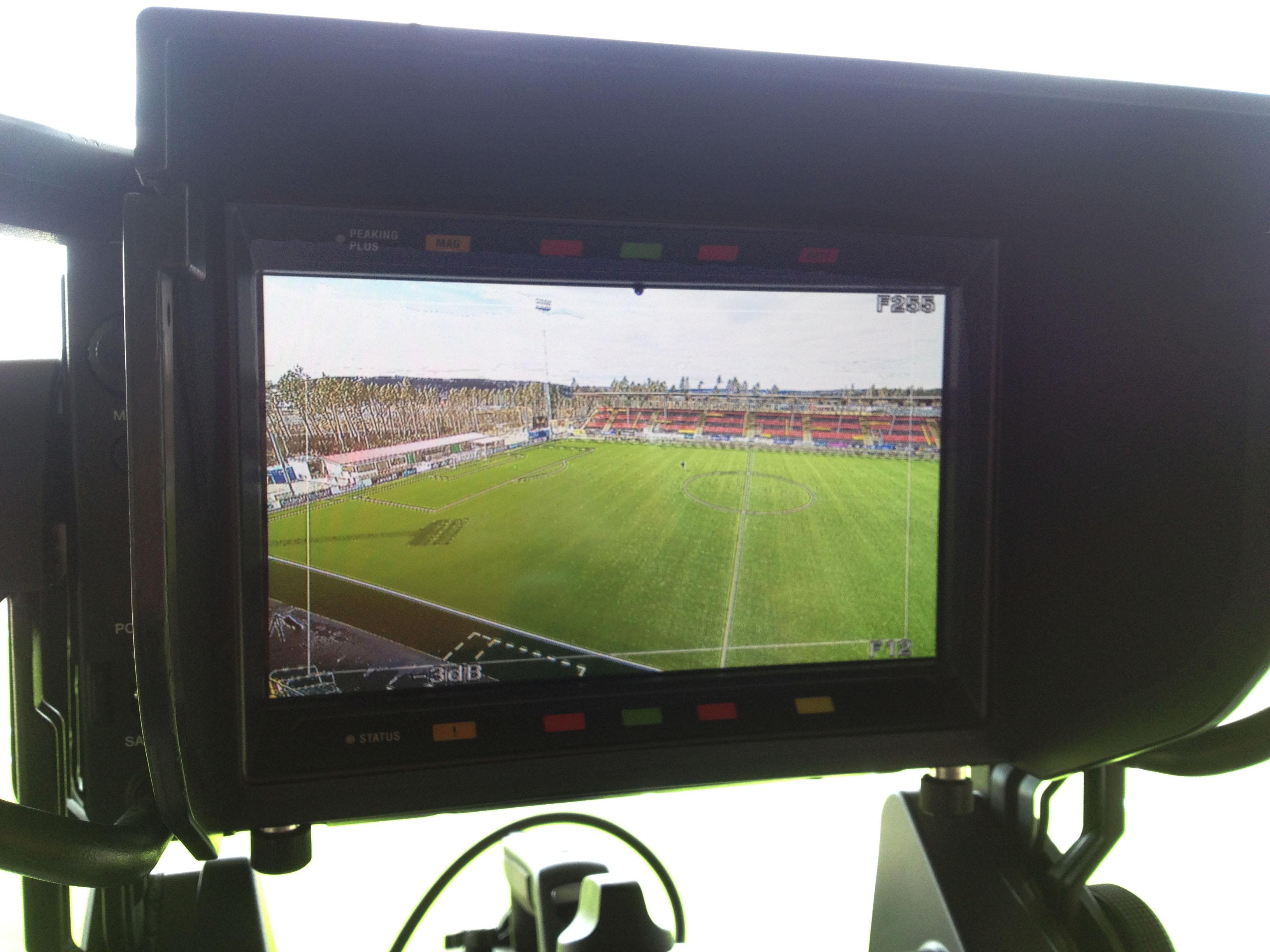 Frilansuppdrag som Fotograf under fotboll i SuperEttan.