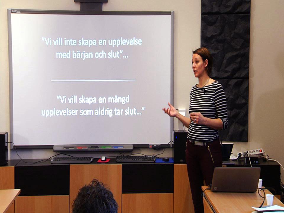 Föreläsning Om Döda fallet och dess framtid i Hammarstrand